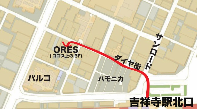 ores map